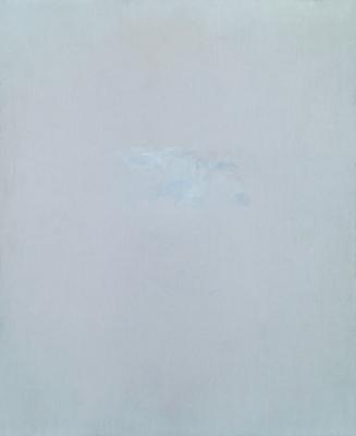 Oil on sandpaper, 11 x 9 in. / 27,8 x 22,8 cm