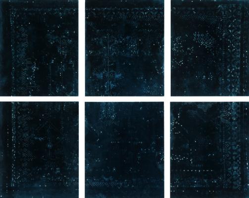 2018, UV-print on glass, 14.5 x 11.75 in. / 30 x 37 cm