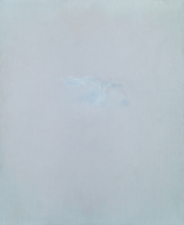 Oil on sandpaper, 11 x 9 in. / 27,8 x 22,8 cm