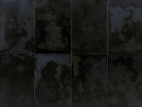 VON ANDEREN WELTEN, 11/2014 - UV-print on glass, 95 x 127 in. / 241 x 322 cm (exists in 8 pieces)