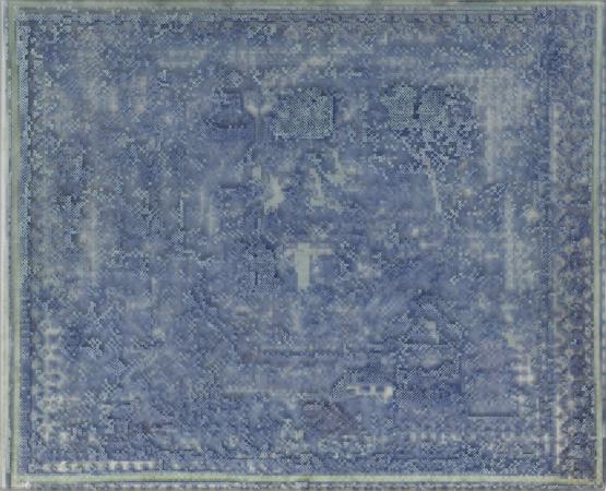 Käthe - 2018, UV-print and oil on glass, 14.5 x 11.75 in. / 30 x 37 cm